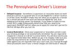 the pennsylvania driver s license37
