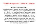 the pennsylvania driver s license4