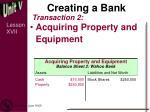 creating a bank1