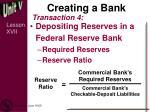 creating a bank3