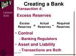 creating a bank5