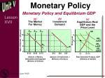 monetary policy1