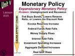monetary policy3