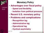 monetary policy5