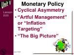 monetary policy6
