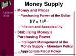 money supply1