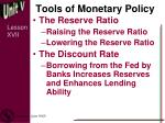 tools of monetary policy3