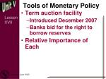 tools of monetary policy4