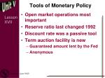 tools of monetary policy5