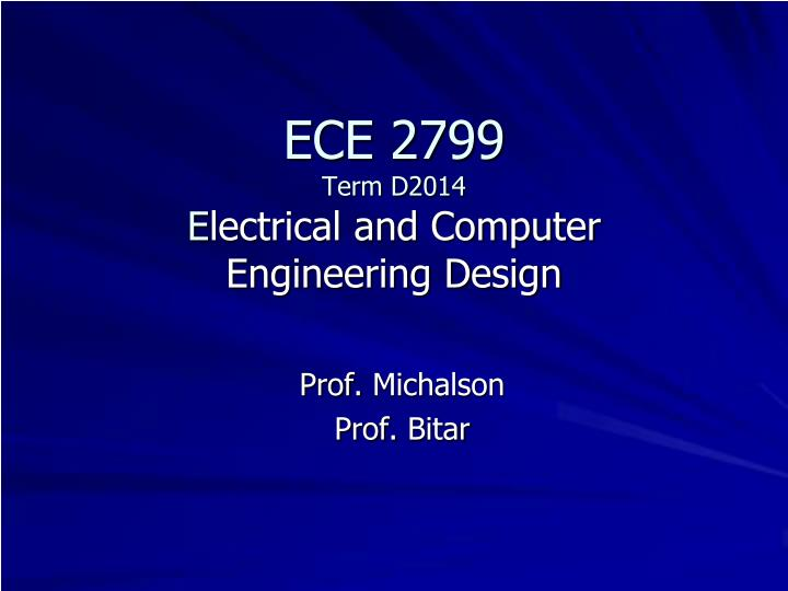 ece 2799 term d2014 e lectrical and computer engineering design n.