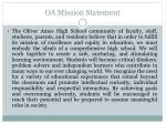 oa mission statement