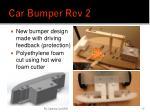car bumper rev 2