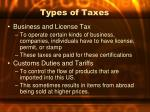 types of taxes2