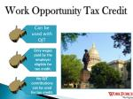 work opportunity tax credit1