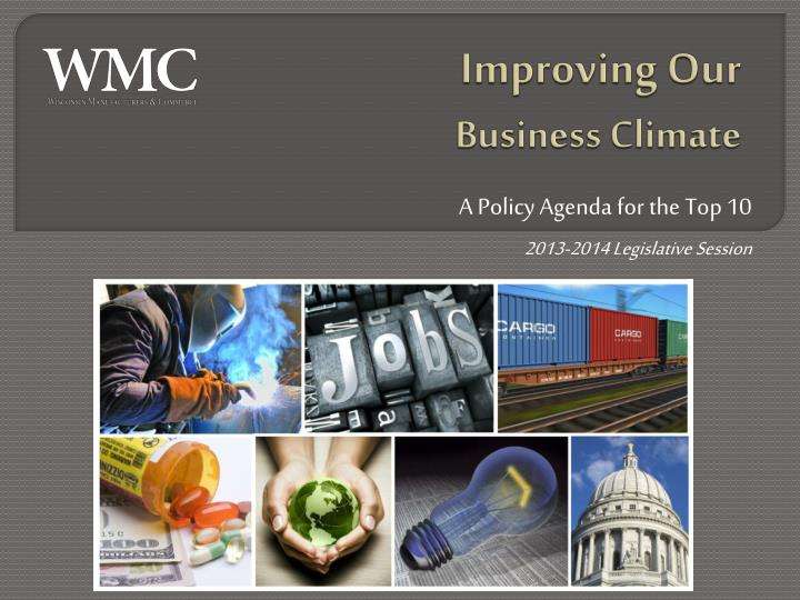 improving our business climate n.