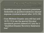expiring tax provisions after 12 31 108