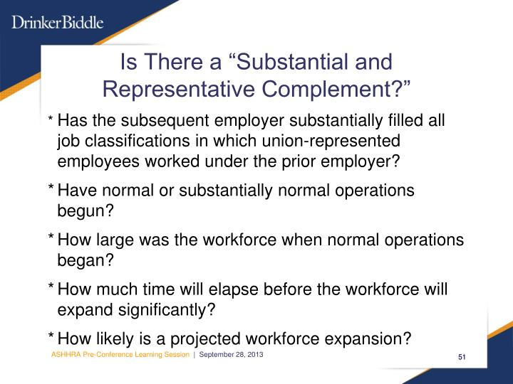 """Is There a """"Substantial and"""