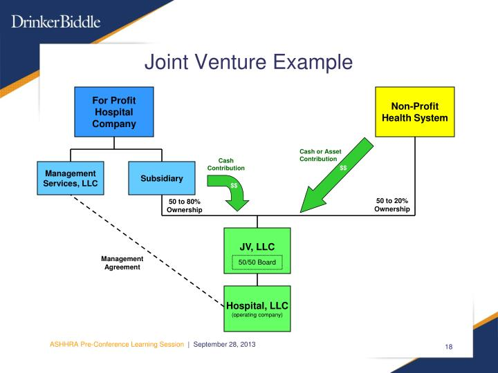 Joint Venture Example