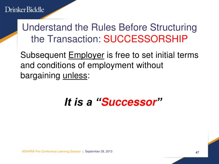 Understand the Rules Before Structuring
