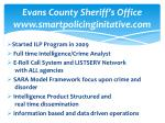 evans county sheriff s office www smartpolicinginitative com