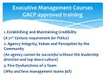executive management courses gacp approved training