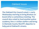 oakland issues4