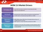 m2m 2 0 market drivers