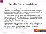 benefits recommendations1