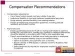 compensation recommendations1