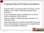 employee movement recommendations
