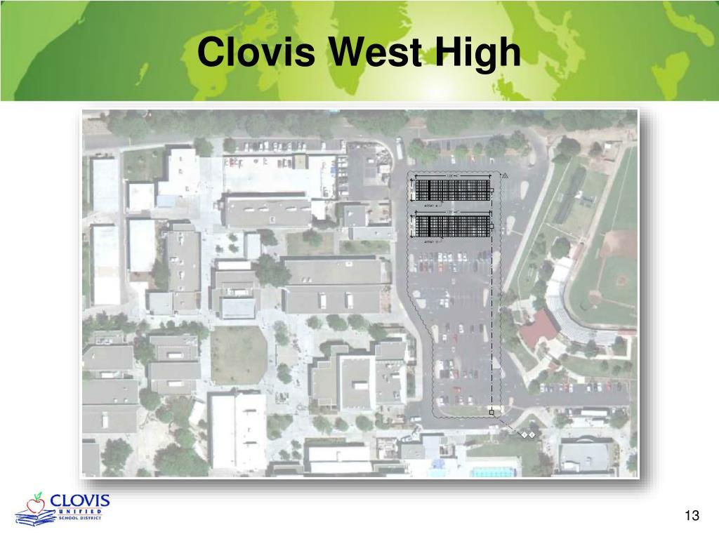 PPT - Clovis Unified School District Solar Plans PowerPoint