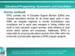 educational programming assessment and consultation2
