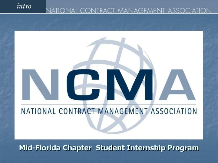 mid florida chapter student internship program n.