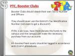 ptc booster clubs
