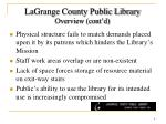 lagrange county public library overview cont d2