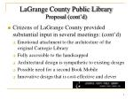 lagrange county public library proposal cont d1