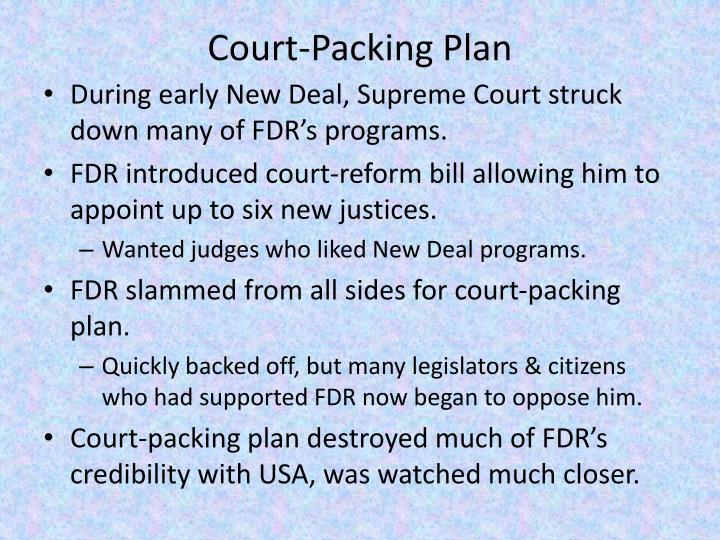 Court-Packing Plan