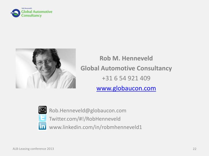Rob M. Henneveld