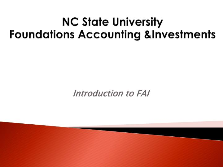 nc state university foundations accounting investments n.