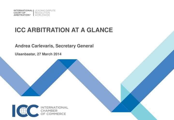 icc arbitration at a glance n.