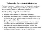 wellness for recruitment retention1