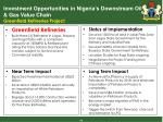 investment opportunities in nigeria s downstream oil gas value chain greenfield refineries project