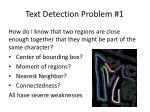 text detection problem 1