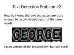 text detection problem 2
