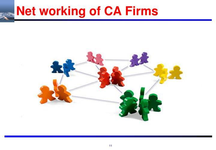 Net working of CA Firms