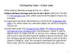 company law case law1