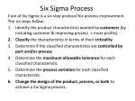 six sigma process