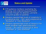 status and update1