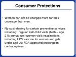consumer protections1