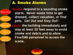 a smoke alarms